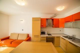 Apartament z dwoma sypialniami i tarasem
