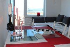 Apartament z 3 sypialniami 6+1 z balkonem i widokiem