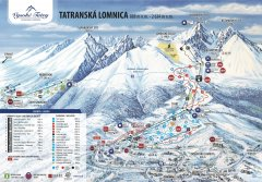Trasy zjazdowe Tatrzańskiej Łomnicy