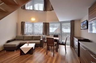 Apartament z dwoma sypialniami - dwupoziomowy