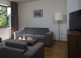 Apartament z osobną sypialnią -Apartmani Srebreno