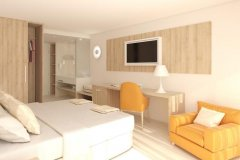 Apartament Junior Suite z balkonem i widokiem