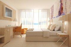 Pokój Standard z balkonem i widokiem na morze