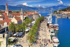 Zwiedzamy w Trogirze