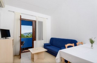 Apartament 2+1 z jedną sypialnią plus