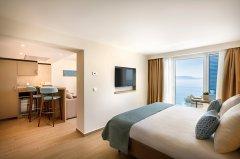 Apartament Junior z balkonem - widok morze