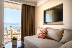 Apartament Rodzinny Junior z balkonem - widok na morze