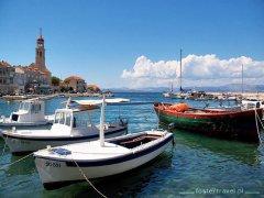 Dalmacja Region Split - wyspa Brać
