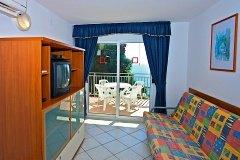 Apartament z 1 sypialnią 2+2 widok morze