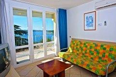 Apartament z 1 sypialnią 3+2 widok morze